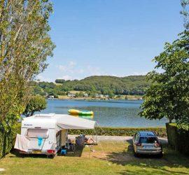 camping bord de lac pareloup