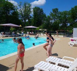 Requête visée : camping Dordogne avec piscine