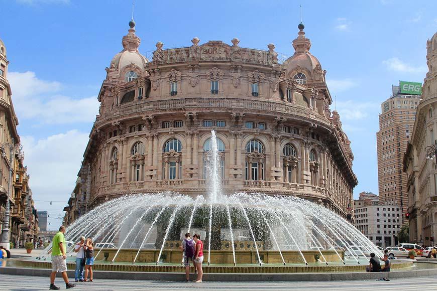 Palazzo della Nuova Borsa Valori Genova