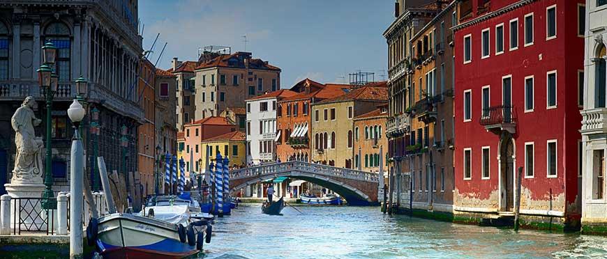 canaux de venise italie