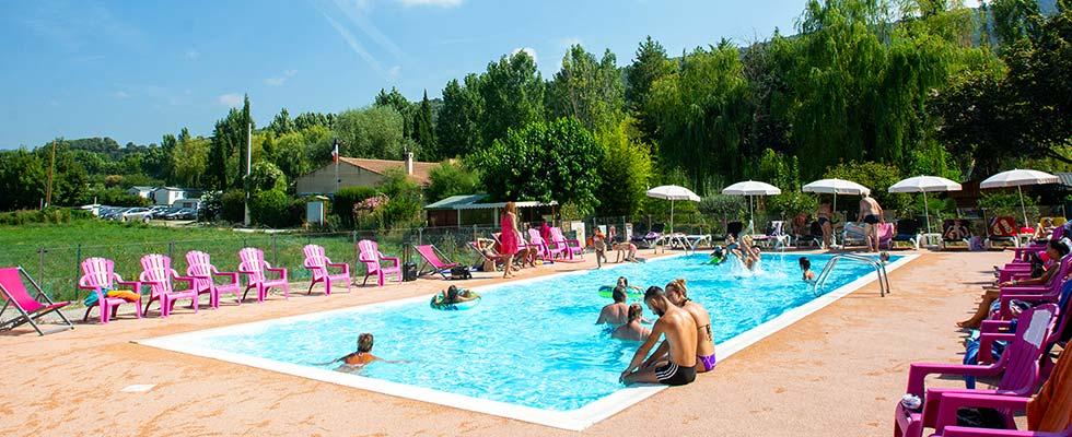 camping piscine verdon